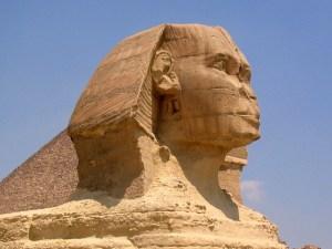 Die Sphinx von Gizeh