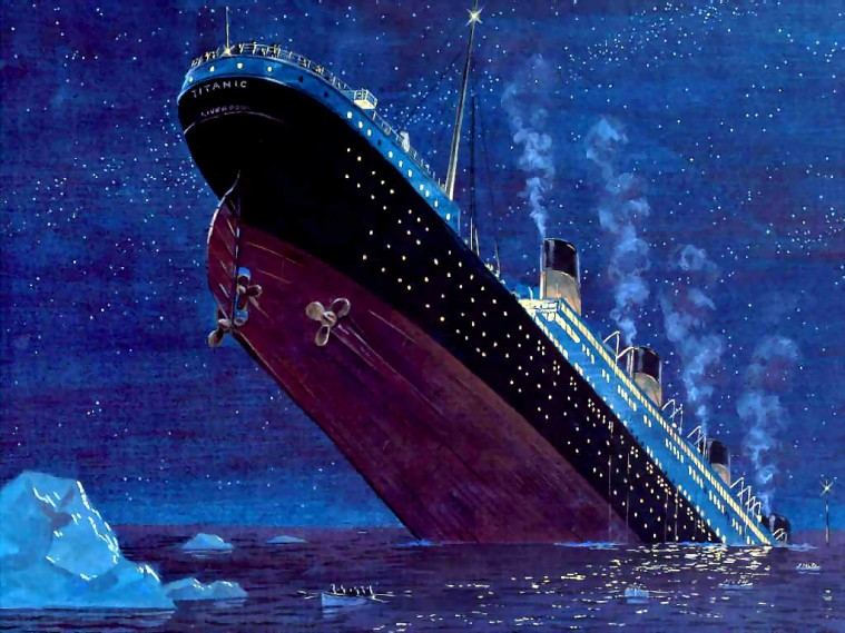 affondamento Titanic