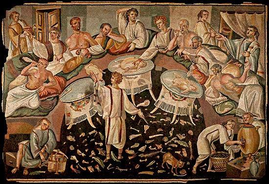 Gustatio banquete