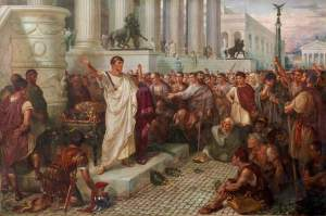 funeral de César