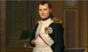 muestra Napoleon Bonaparte