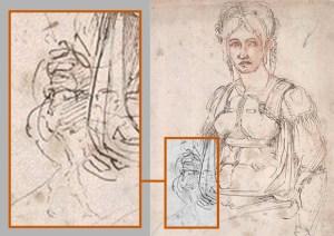 Miguel Ángel autorretrato
