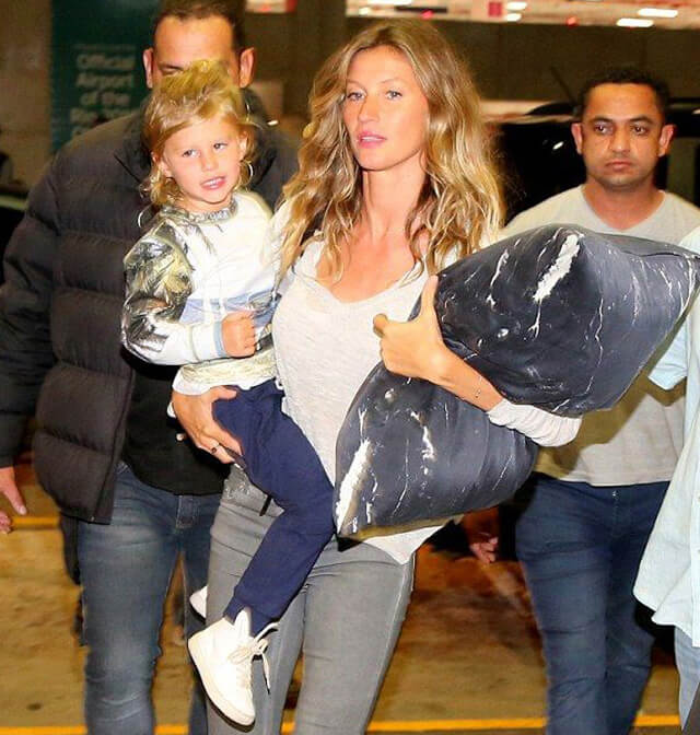 Celebrities With Pillow