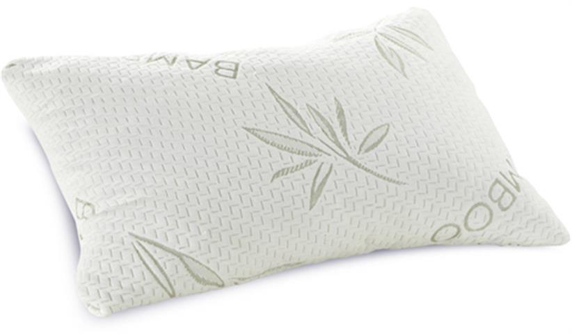 Snuggle Pedic Bamboo Combination Memory Foam Pillow