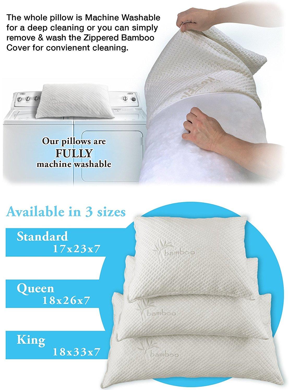 Snuggle Pedic Bamboo Combination Memory Foam Pillow Review