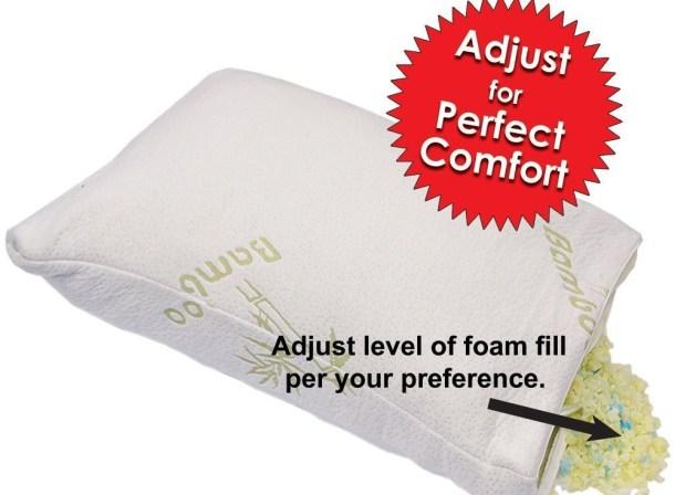 bamboo grand adjustable pillow