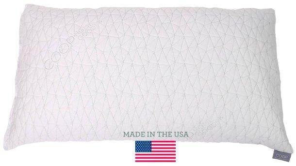 coop home goods adjustable pillow