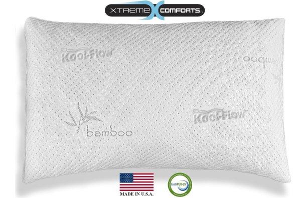 xtreme comforts bamboo pillow