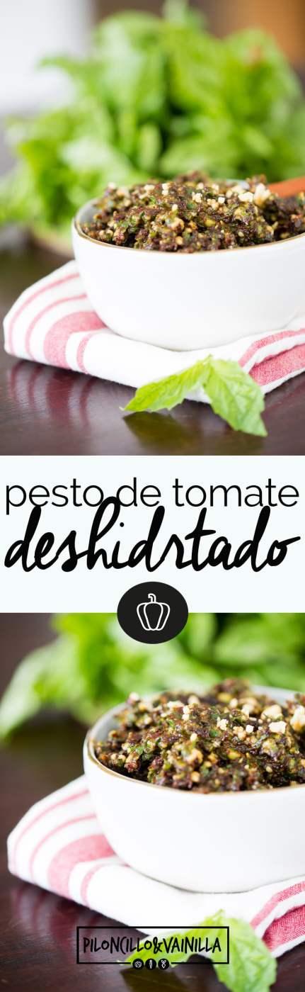 peto de tomate deshidratado