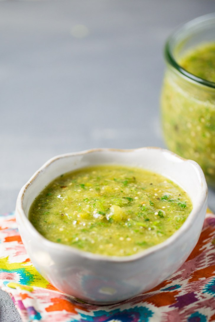 vegan authentic mexican salsa verde