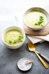 Crema de brócoli sin crema