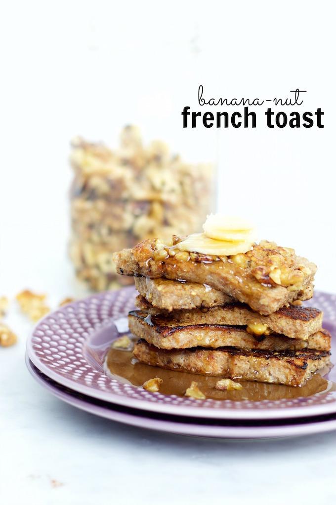 banana-nut french toast