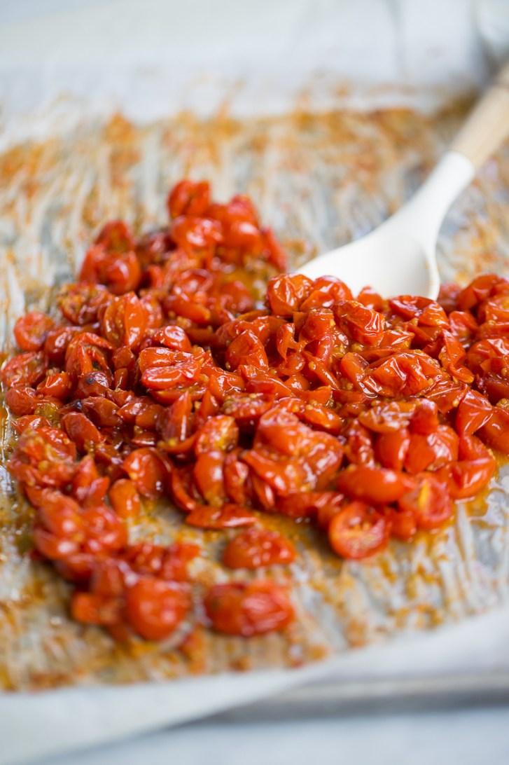 Tomates rostizados prar todo, simplemente deliciosos.