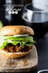 hamburguesa de chorizo
