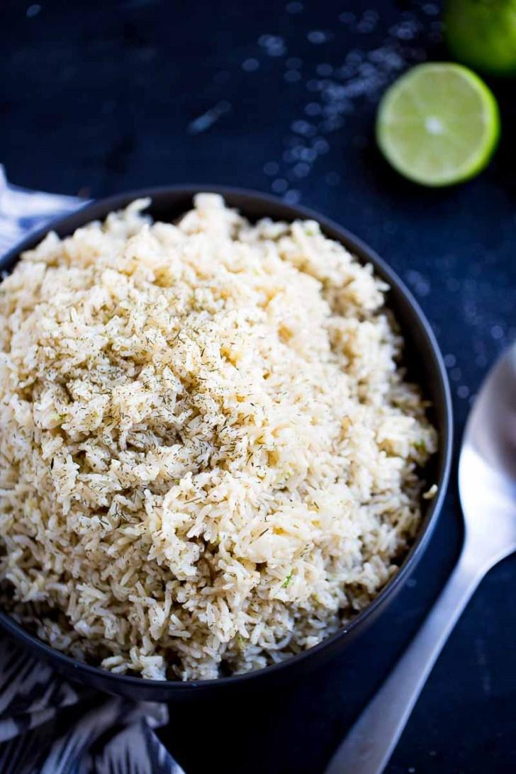 Tazón con arroz