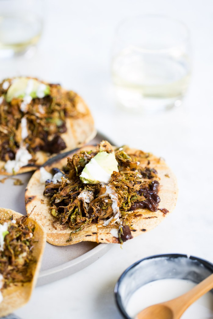 Receta de tostadas vegetarianas con chorizo vegano