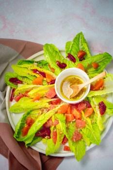 ensalada de cítricos