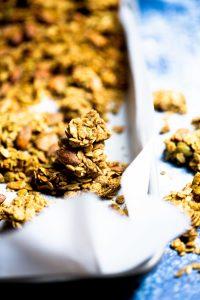 Granola chunks con almendras