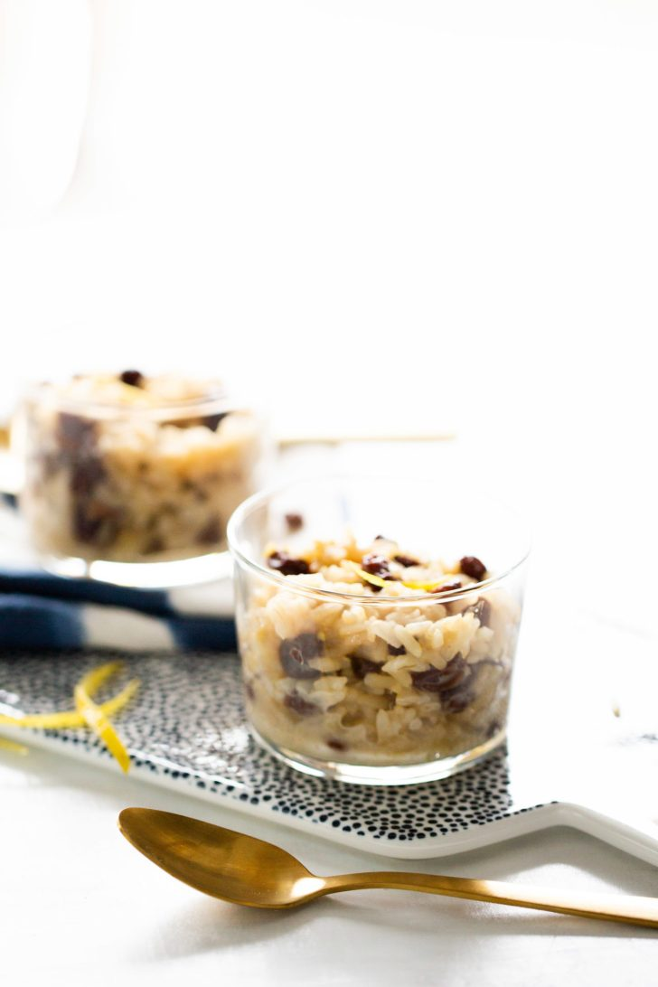 vegan mexican rice pudding