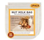 bolsa para hacer leche de almendra