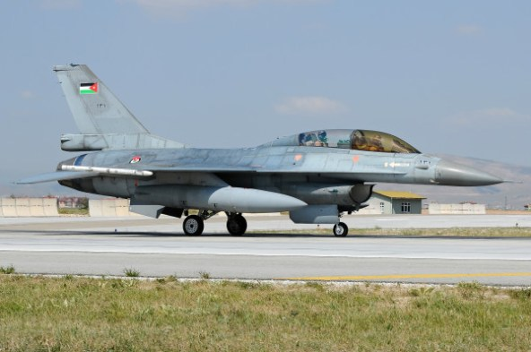 Jordan Air Force F-16A 131 \ Remco Boudewijn - Melvin Jansen