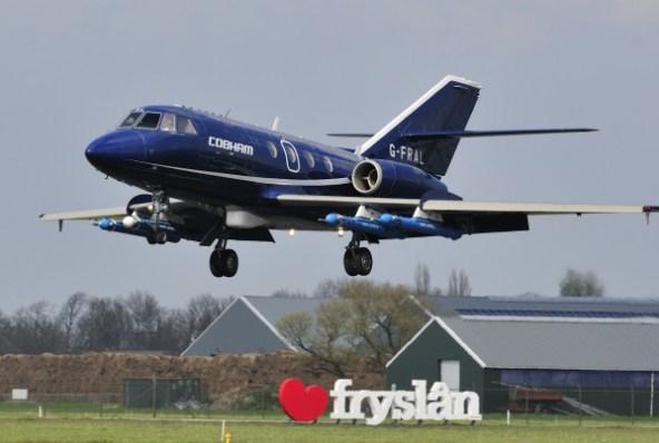 Falcon 20DC van Cobham Flight Inspection.
