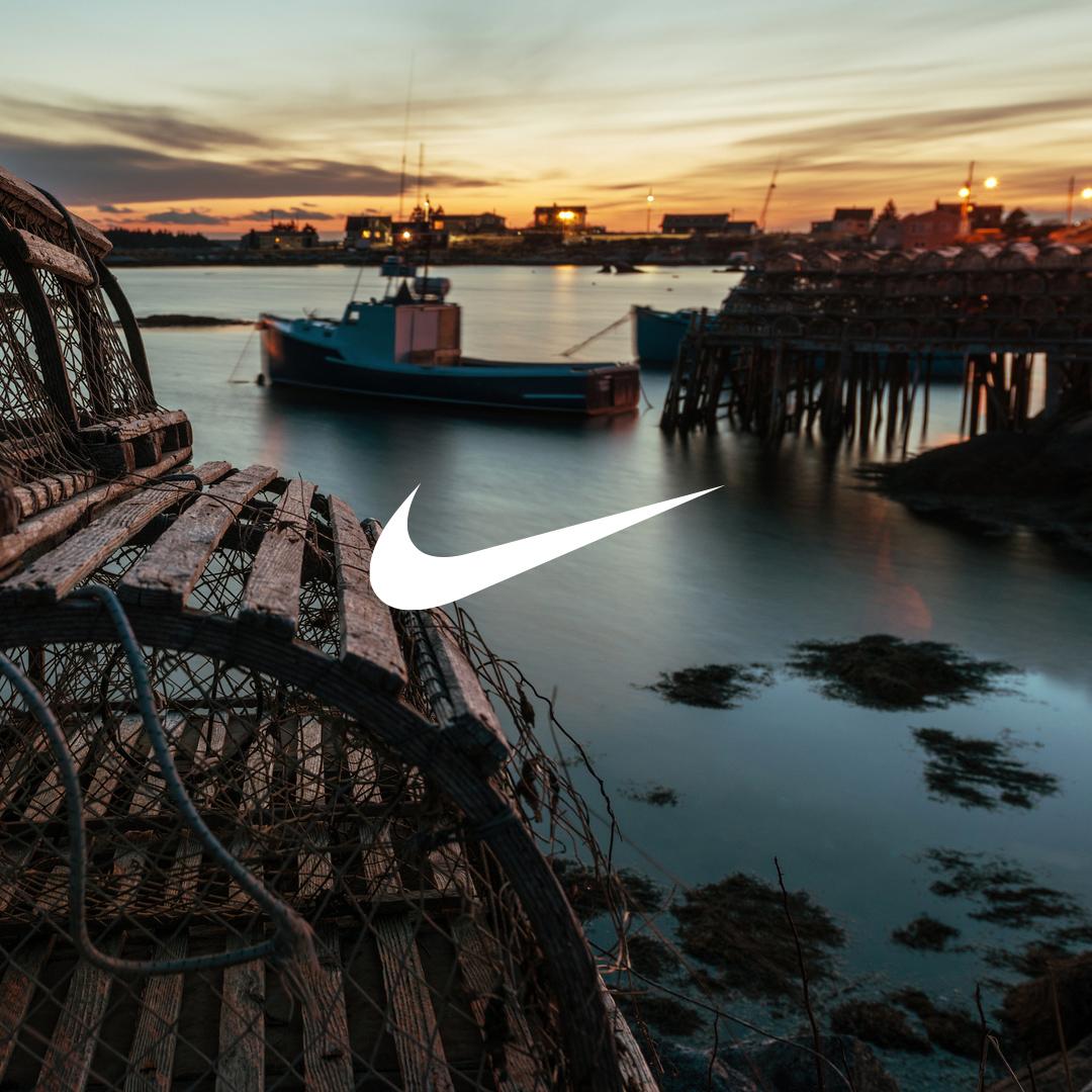 Nike Blue Lobster
