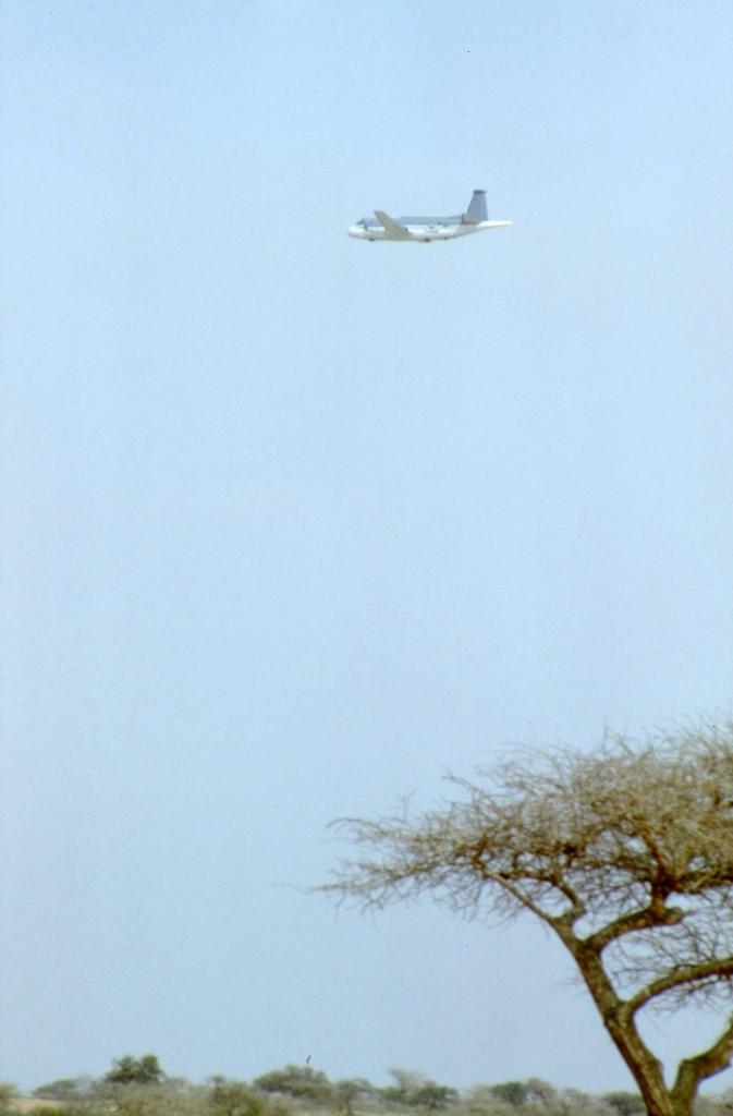 Un ATL2 en Afrique au cours d'une recherche SATER