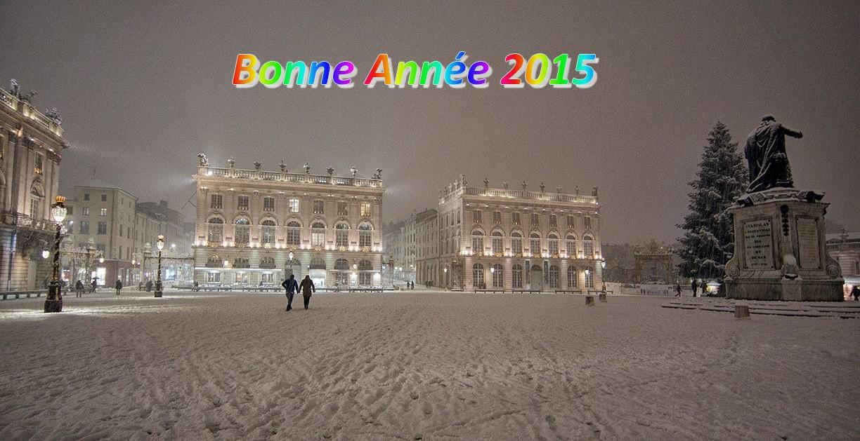 Place Stan Nancy bonne année 201