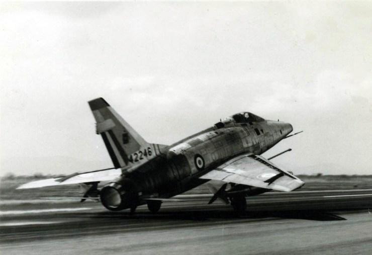 F-100D au décollage