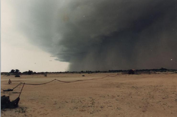 Orage sur N'Djamena