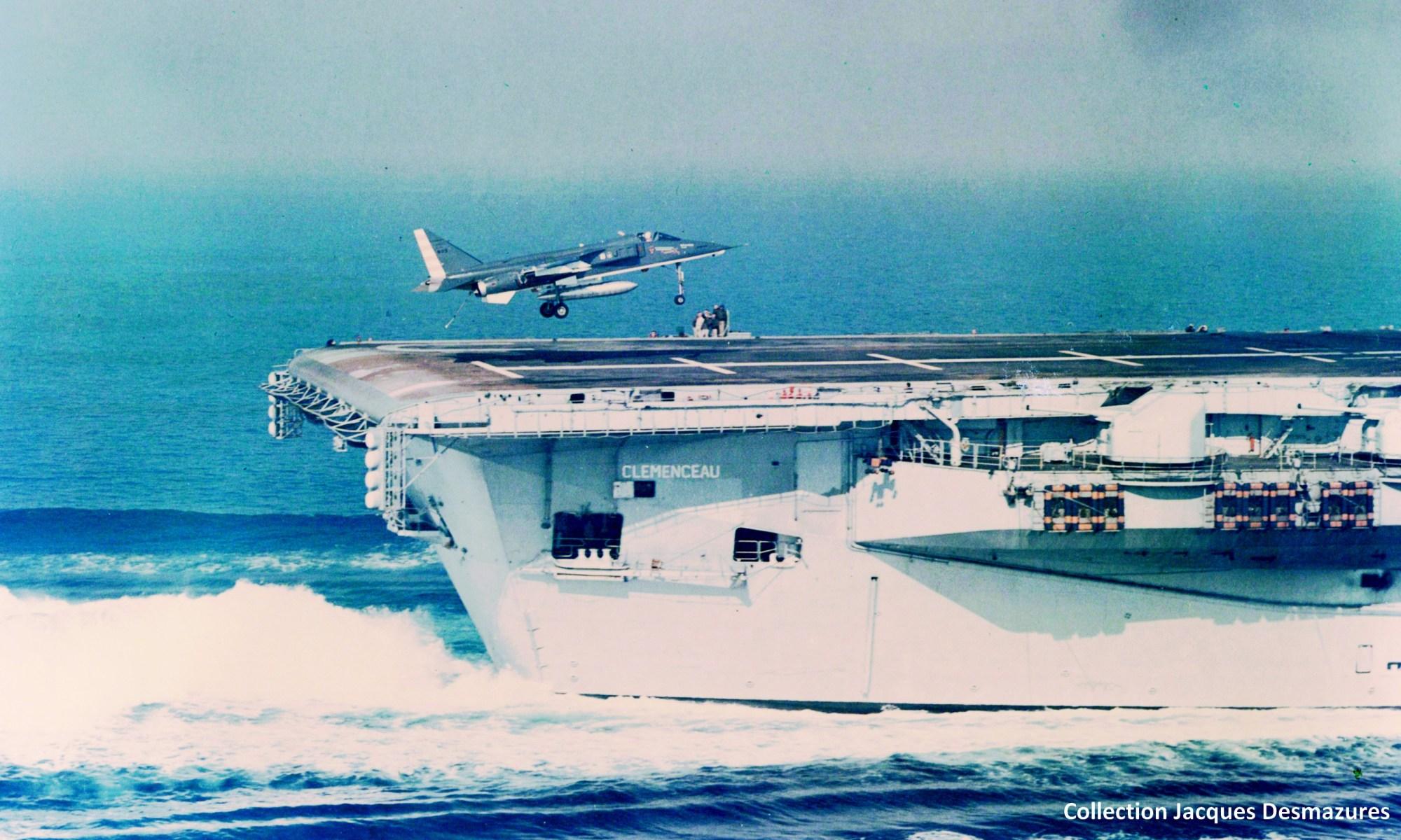 Jaguar Marine sur le Clémenceau