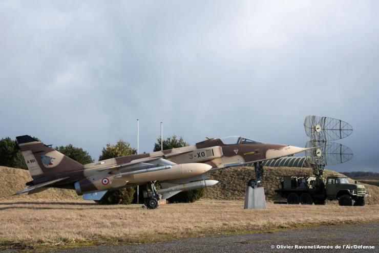 Un Flat Face et le A100 qui a tiré le missile
