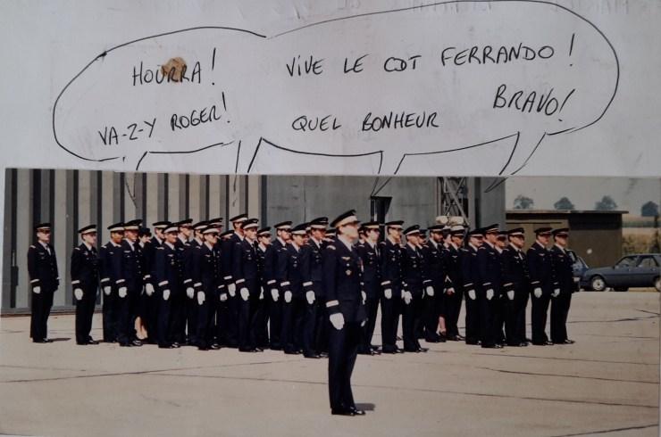 1987 Ferrando devient commandant du 2/11 dans l'allegresse générale