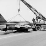 A-157 Atterrissage sur le bidon