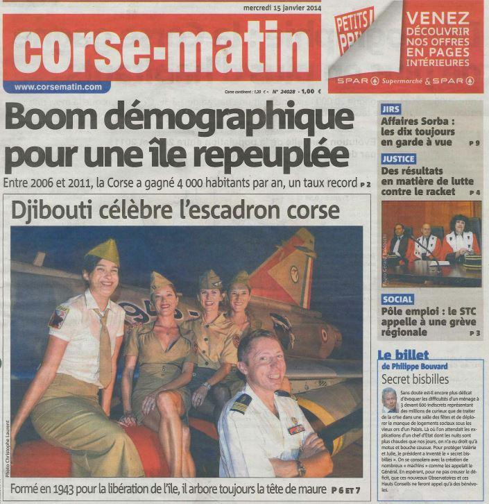 70 ans Corse