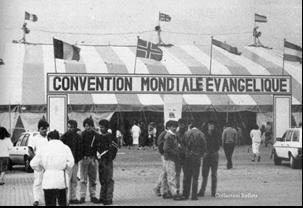 La convention mondiale à CHAMBLEY