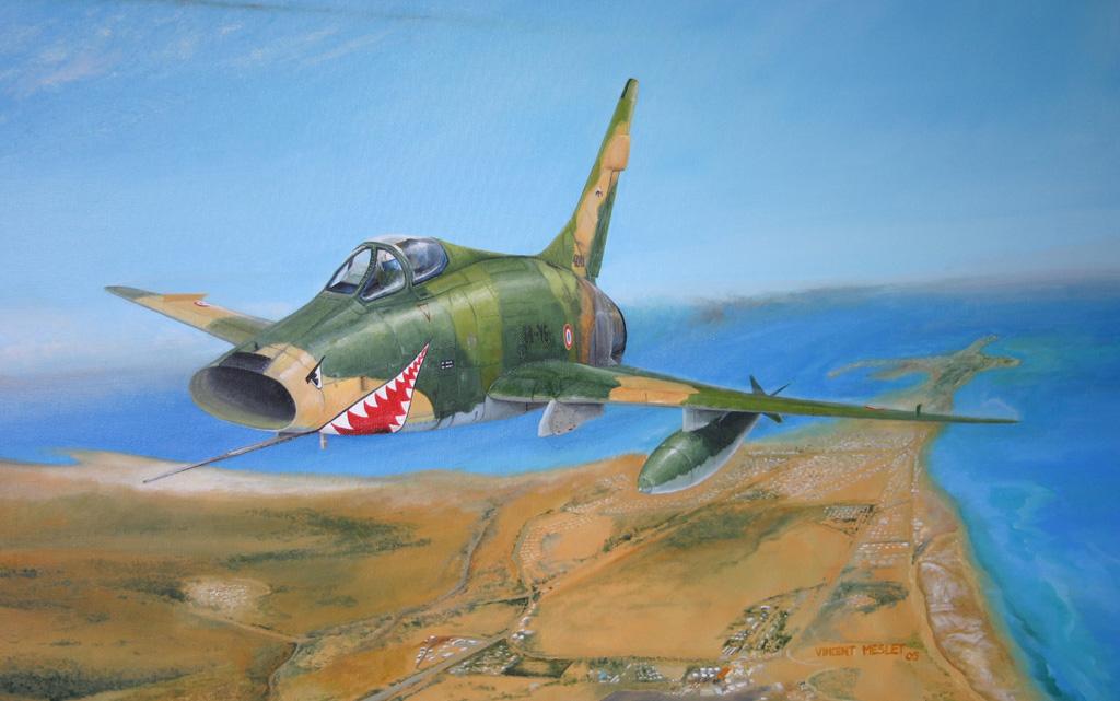 F100 Les Requins de la mer rouge