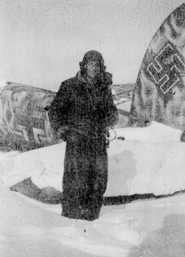 Nancy 19 Février 1945 Heinkel 111 abattu