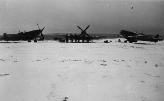 Toul 3 Janvier 1945 Spitfire