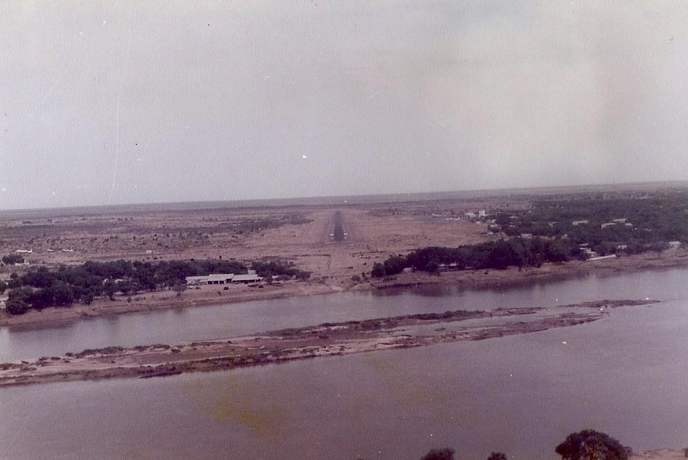 "La ""plage"" de N'Djamena"