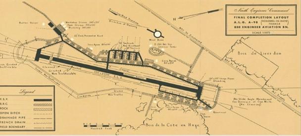 "Plan du terrain de Rosy ""A98"""