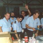 1/11 Départ de Godeau (stupeur ! ) officier mécano 1988