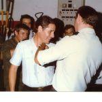 Remise des fourragères à Nénesse par Alban 1983