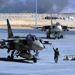 Vincent de Gournay Guerre du Golfe, 9 février 1991, départ de la misson F45, objectifs au Koweït