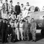 1954 Cazaux 2 ème escadrille CDT Perotte-Dechelette