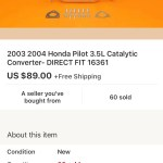 The Annoying P0420 Code Honda Pilot Honda Pilot Forums