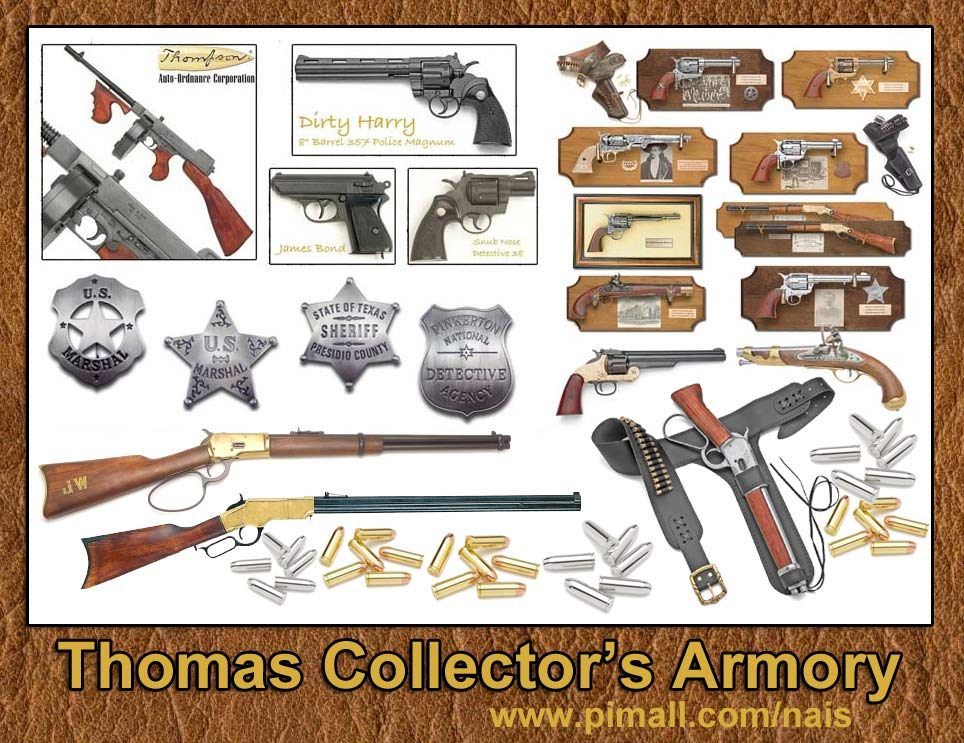 THOMAS COLLECTOR'S ARMORY -www.pimall.com/nais