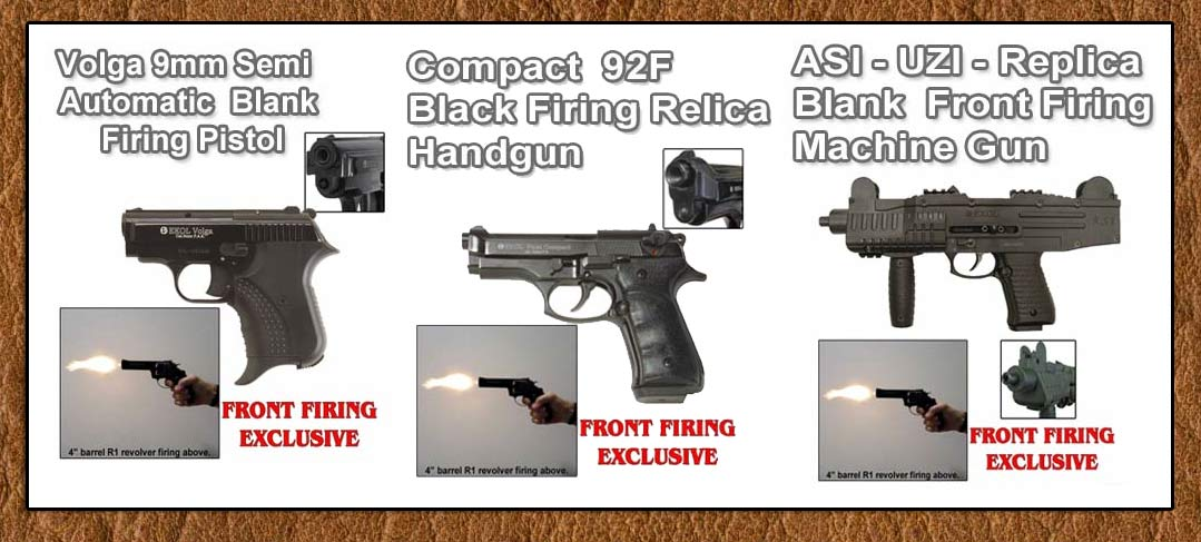 Exclusive Front Firing Blank Guns From Thomas Collector's Armory-www.pimall.com/nais