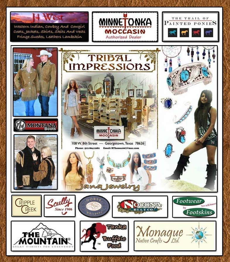 Tribal And Western Impressions- www.indianvillagemall.com